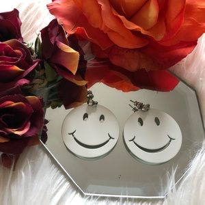 Jewelry - Happy Face Earrings